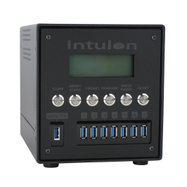 USB 3.1 Flash Drive | Hard Drive | SD Card Content Duplicator and Secure Wiper (7 Targets) by Intulon